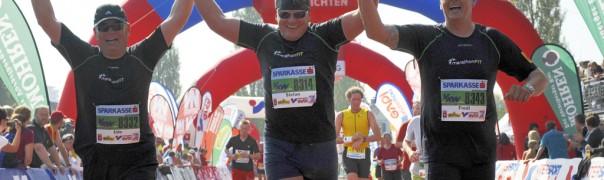 Zieleinlauf MarathonFIT